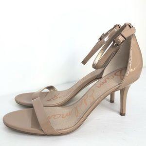 Sam Edelman Patti nude heel sandals size 8